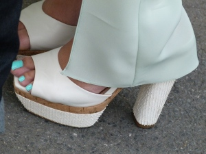 Paris couture AW1213 week shoe sightings
