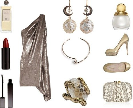 New Year's Style & Shine Look