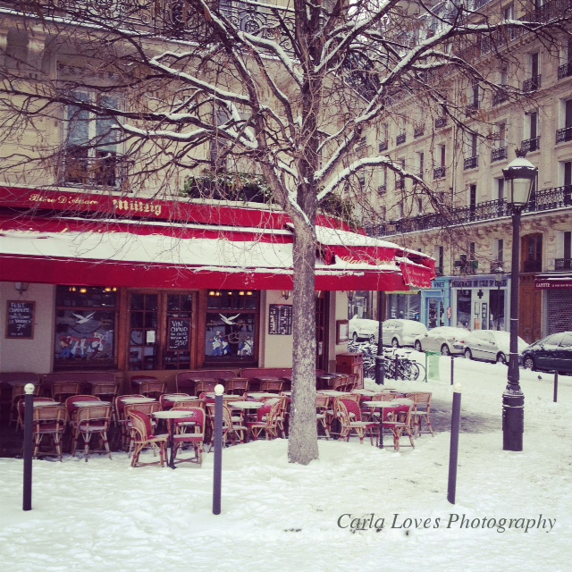 Pretty Paris Pictures : Snow!