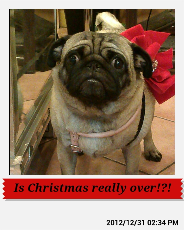 Is christmas really over!?!