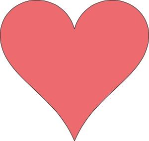 HeartOutlinepink