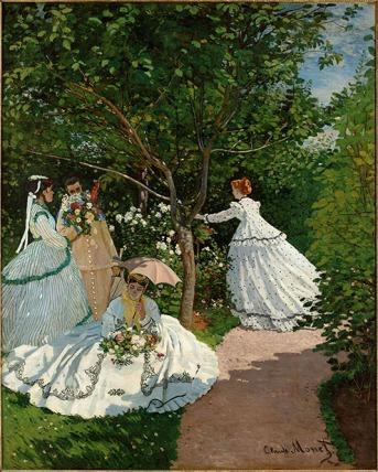 Women in the Garden - Claude Monet