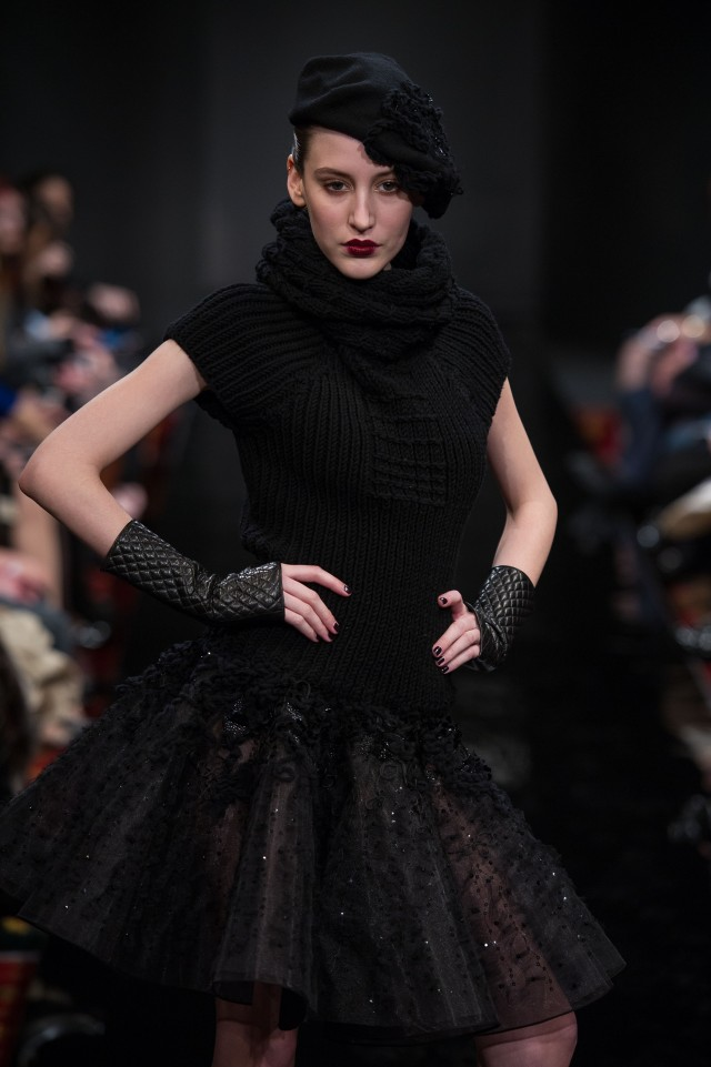 Claudine Ivari Womenswear Winter 2013 - 2014 Paris