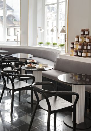 Le Bon Marche Rive Gauche Rose Bakery TEA ROOM (2)
