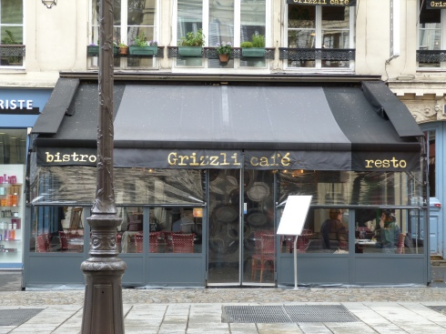 Grizzli cafe Paris