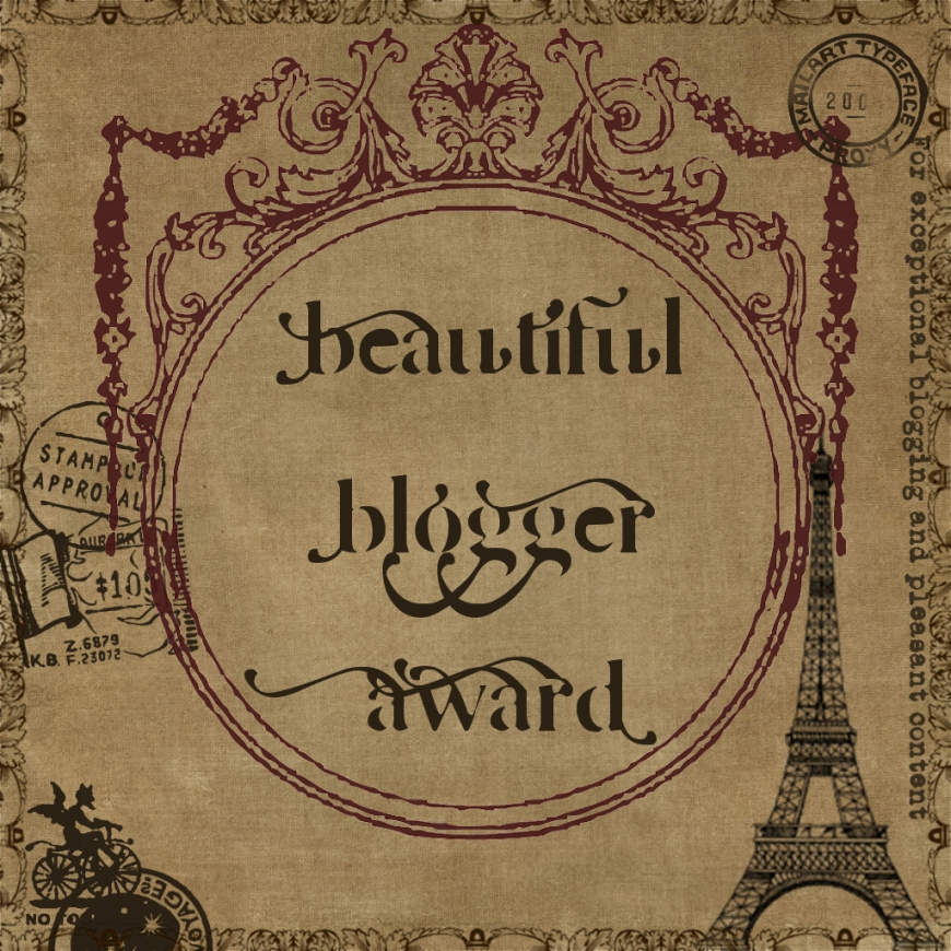 Beautiful Blogger Award PreteMoiParis