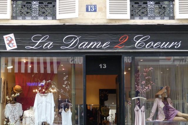 La Dame 2 Coeurs Paris