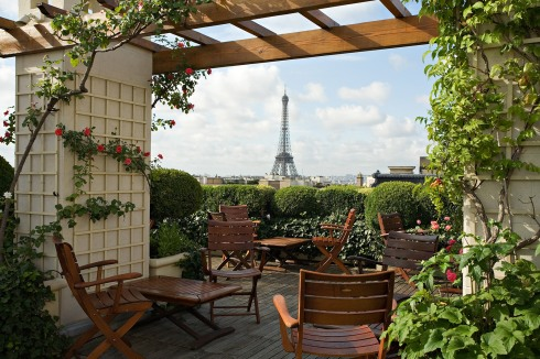 Image courtesy of the Hotel Raphael website