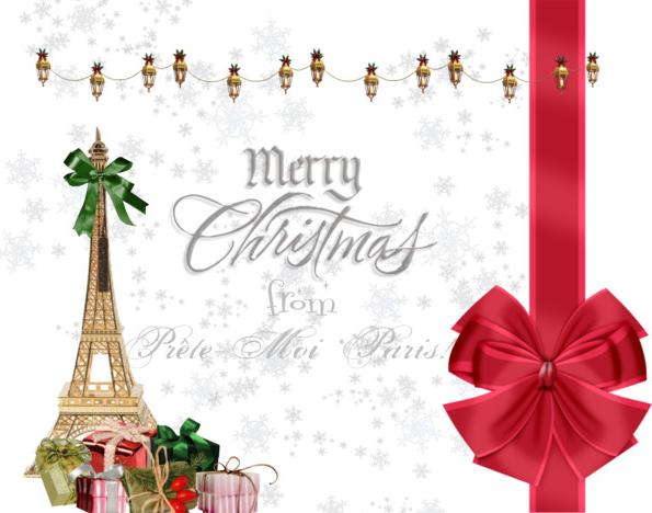 MerryChristmasPreteMoiParis